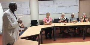 Formation des bénévoles : Entre le visible et l'invisible en radiothérapie 3
