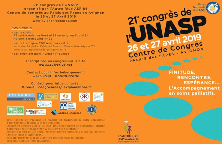 26-27 avril 2019 – Congrès de l'UNASP enAvignon