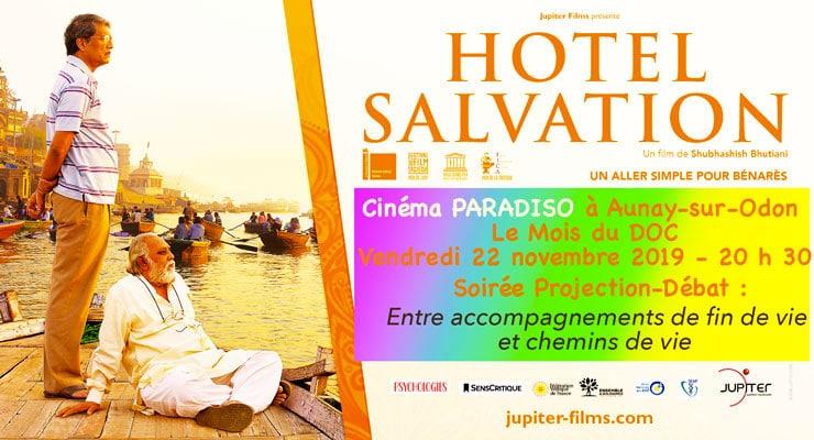 22/11/2019 – Film Hotel Salvation et débat Soins palliatifs