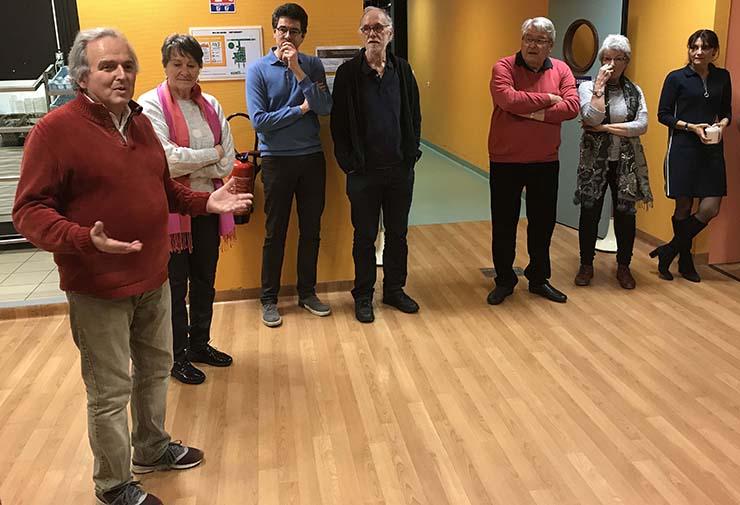 Au centre Baclesse, galette des rois pour les bénévoles de l'ASPEC