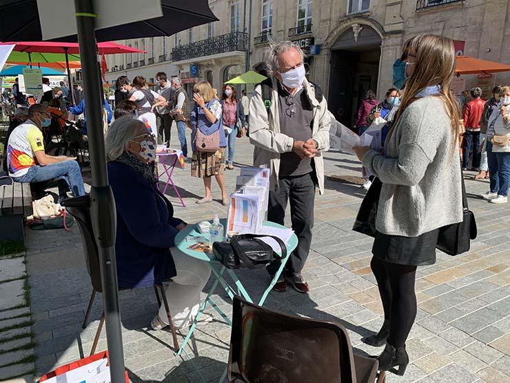 Place aux assos 2020 à Caen : l'ASPEC au-devant du public